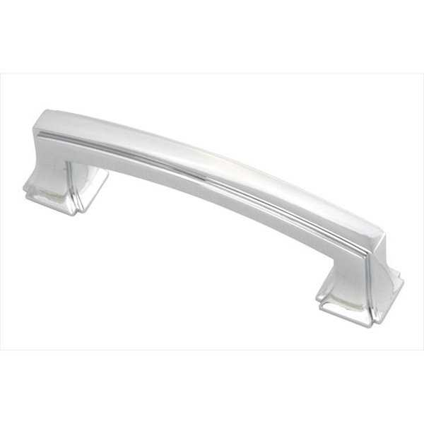 Hickory Hardware P3231-CH 3 In. Bridges Chrome Cabinet Pull