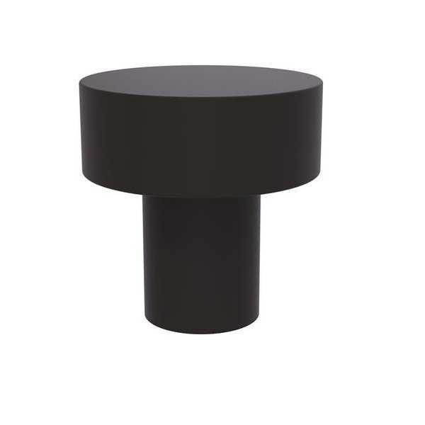 Allied Brass 1 in. Round Flat Top Cabinet Knob, Oil Rubbed Bronze