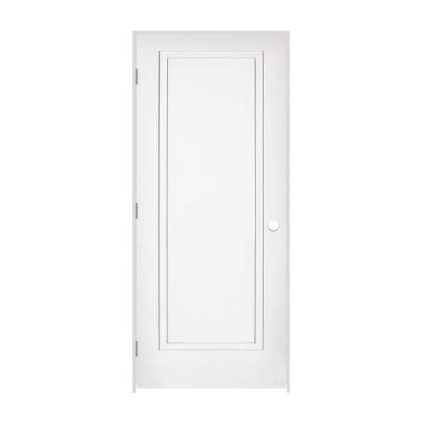 Trimlite 2868138-8491RH156916 32' by 80' 2-Step Shaker 1-Panel Right Handed Inte - Primed - N/A