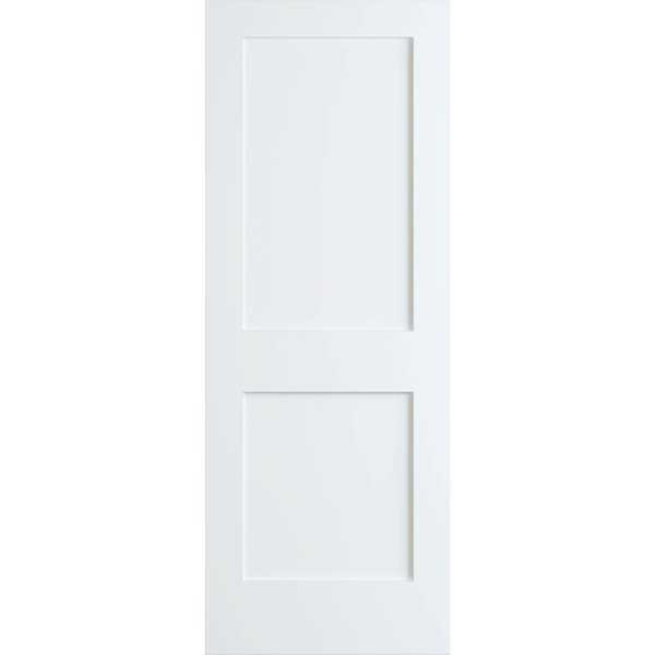 Frameport SHK-PD-F2P-8X1-1/2 Shaker 18' by 96' Flat 2 Panel Interior Passage Door - Primed - N/A